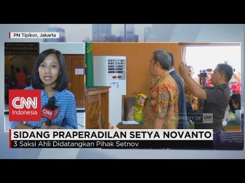 KPK Datangkan 3 Saksi Beratkan Setnov di Sidang Praperadilan Setya Novanto - Live Report