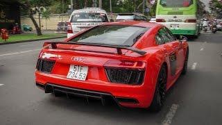 [CarVlog#6] Chi tiết Audi R8 V10 Plus của Phan Thành | XSX