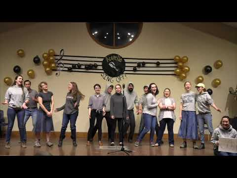 """A Cappella Medley """"September,"""" """"Africa,"""" & More   Christendom's 2020 A Cappella Competition"""