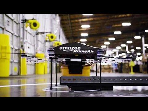 Amazon: prima consegna con drone - economy