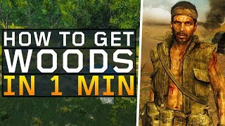 How to Unlock Woods in 1 minute! (Black Ops 4: Blackout)
