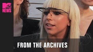 Lady Gaga on Debut Album, 'Just Dance' & 'Paparazzi' Music Videos (2008) | #TBMTV