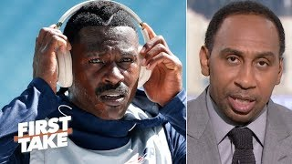 Stephen A. sees the Steelers and Cowboys as possible landing spots for Antonio Brown | First Take