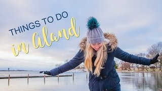 The Åland Islands, Finland in Winter