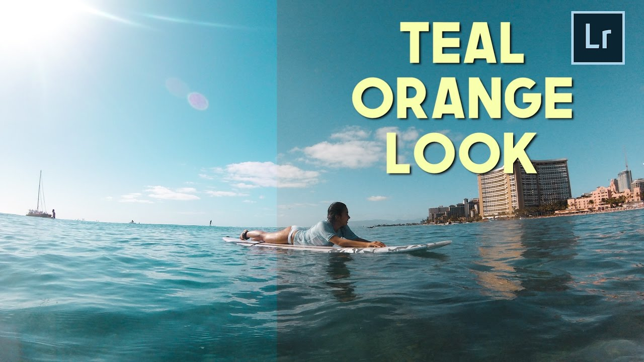 Create A Teal Orange Look For Photosvideos Free Luts Sam Kolder