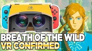 Breath of the Wild VR is REAL! I'm excited...