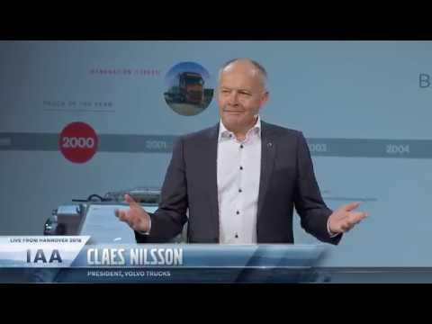Volvo Trucks - Press conference from IAA 2018