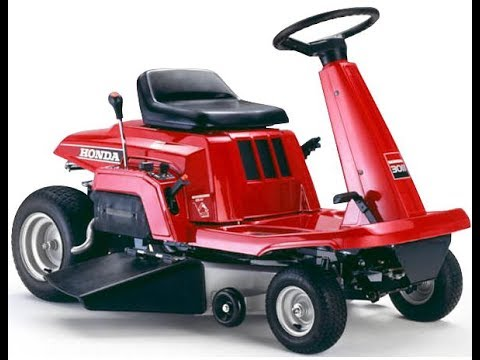 honda riding mower youtube. Black Bedroom Furniture Sets. Home Design Ideas