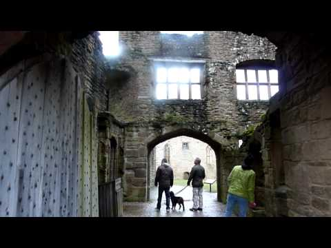 Ludlow Shropshire England: Town And The Famous Castle