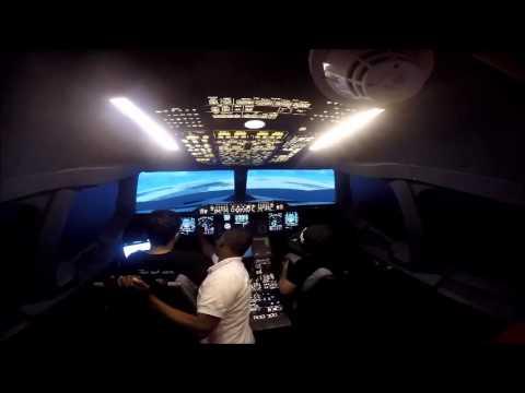 A380 Emirates Simulator- Dubai mall