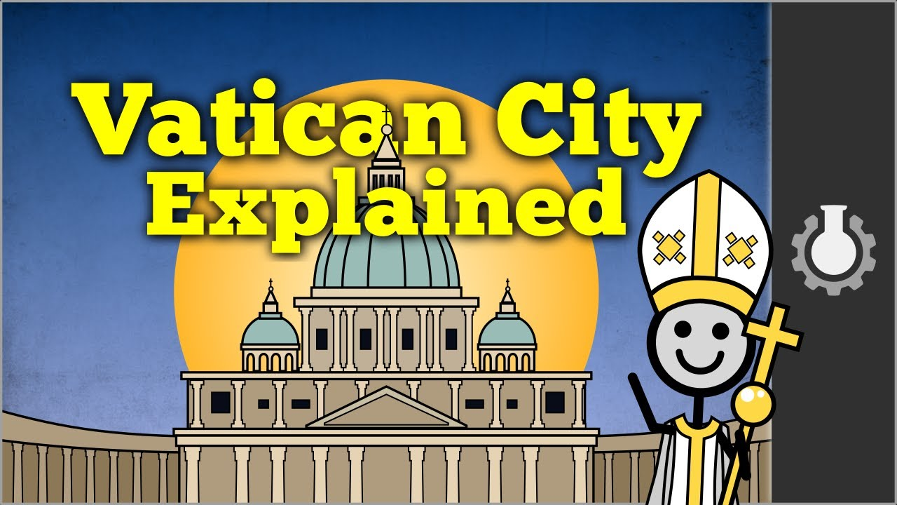 Vatican City Explained YouTube - Holy see map hd
