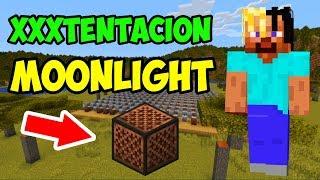 Minecraft музыка - Moonlight [Спулае Мунае] (XXXTentacion) | НОТНЫЙ БЛОК