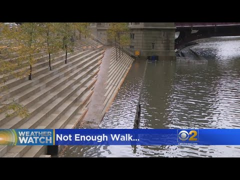 Cleanup Continues On Chicago Riverwalk