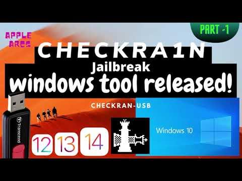 Checkra1n windows Tool Released- *update* new checkra1n for ios 12.3-14.3 (checkra1n windows)