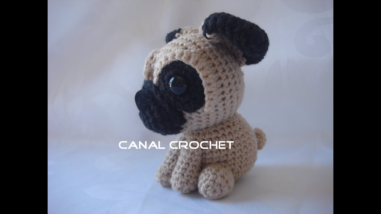 Baby Pug Dog amigurumi pattern - Amigurumi Today | 720x1280