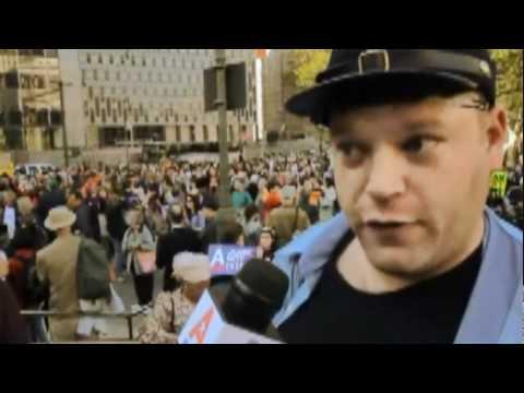 Meet Jesse LaGreca,  Spokesman of Occupy Wall Street