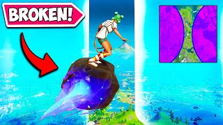 *0.1% CHANCE* THE STORM IS BROKEN!! - Fortnite Funny Fails and WTF Moments! #956