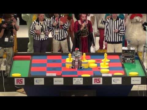 2011 - OMYBOT vs ClubElek - Coupe de France de robotique 2011 - Petite finale