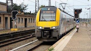 2018/07/29 【ベルギー国鉄】 AM08型 08111編成 ブリュッセル北駅 | Belgium: Class AM 08 08111 Set at Brussels-North