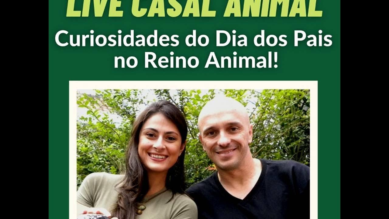 """UMA LIVE ANIMAL SOBRE OS """"PAPAIS DA NATUREZA!"""""""
