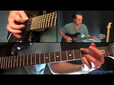 November Rain Guitar Lesson - Guns N' Roses - Chords/Rhythms