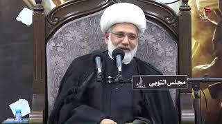 الشيخ زهير الدرورة -  فاطمة الزهراء عليها السلام كأمير المؤمنين عليه السلام فيصل بين الحق والباطل