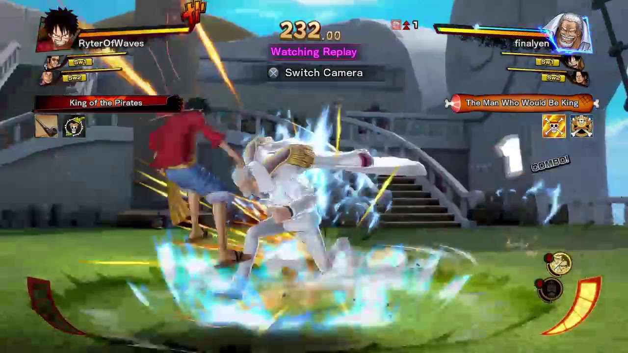One Piece Burning Blood- When you suck at a game so bad you gotta spam.