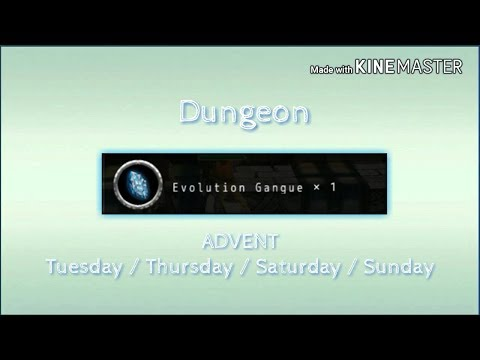 Thamm Avabel Dungeon : Advent Dungeon !! Evolutiin Gangue !!