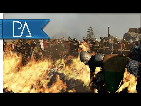 Danish Defense Against French Invasion! - Medieval Kingdoms Total War 1212AD Mod Gameplay