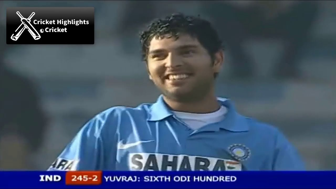 India vs Pakistan 5th ODI 2006 Hutch Cup Cricket Highlights