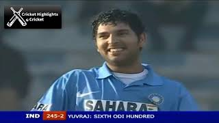 India vs Pakistan 5th ODI 2006 Hutch Cup Cricket Highlights