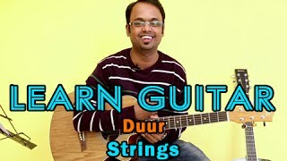 Duur Guitar Lesson - Strings - Faizal Kapadia, Bilal Maqsood