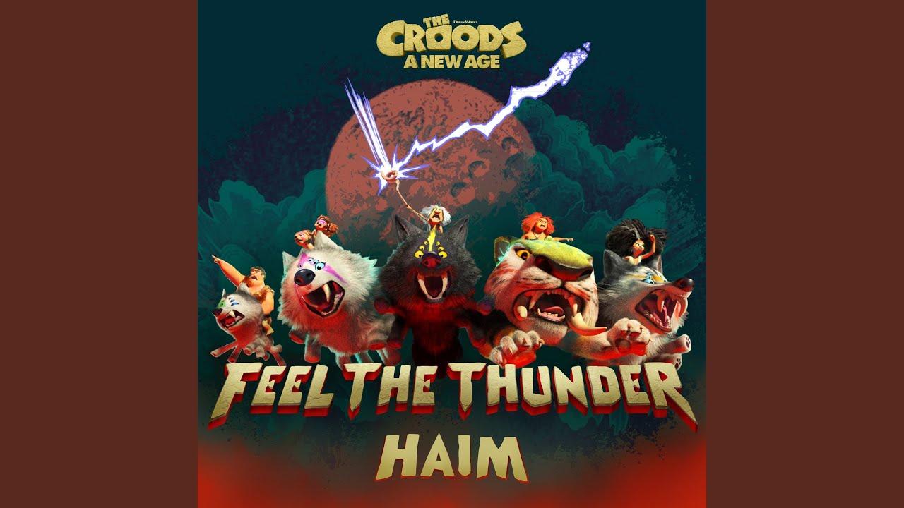 Arti Lirik dan Terjemahan HAIM - Feel the Thunder