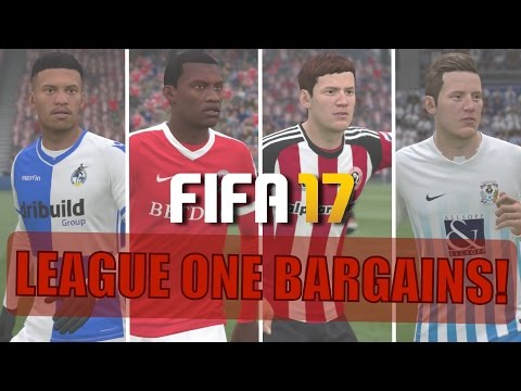 TOP 20 LEAGUE ONE BARGAINS | FIFA 17 Career Mode