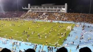 Kekecohan di stadium darul makmur(pahang vs jdt)