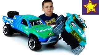 Машинки Hot Wheels против Трамплина Toys video for kids
