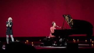 Rufus Wainwright feat. Martha Wainwright Hallelujah & Little Sister LIVE Boston Opera House 8/3/10