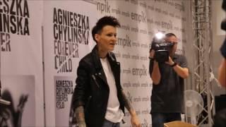 Agnieszka Chylińska w Empiku - Afera na dywaniku FLESZ