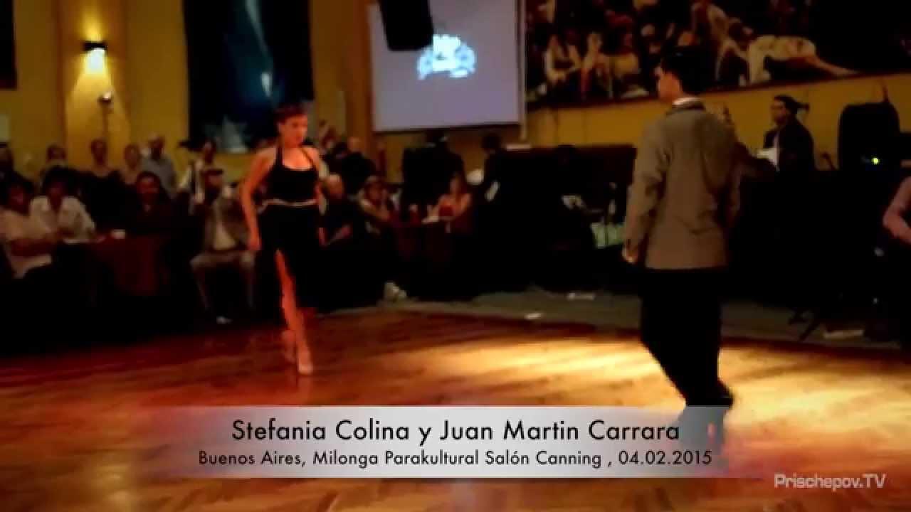 Stefania colina y juan martin carrara 2 buenos aires for A puro tango salon canning
