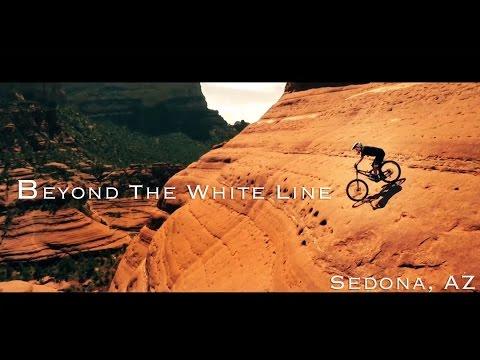Beyond The White Line - Sedona, AZ Extreme Downhill Mountain Biking - Dangerous Do Not Attempt