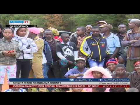 Kiriita ward Nyandarua county Hon  Paul Maina