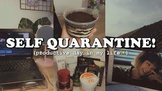 self quarantine vlog!⛅️✨|| kinda productive day || indonesia