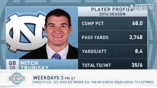 Gottlieb: Mitch Trubisky entering NFL Draft