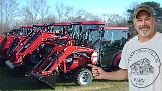 MAHINDRA TRACTORS....ALL OF THEM!! Mahindra Tractor dealer open house event 2019