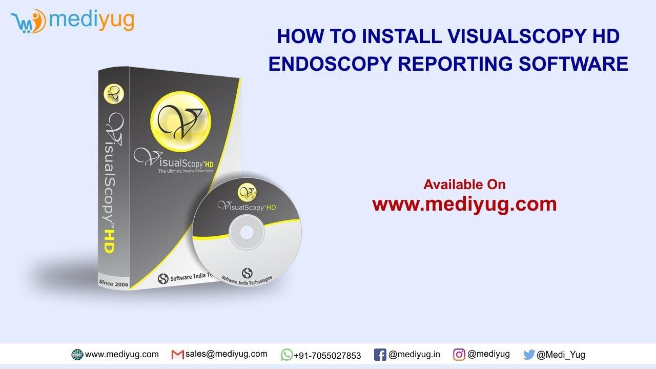 How to install Visualscopy HD Endoscopy Software #Gastroenterology