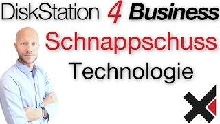 DiskStation 4 Business Schnappschüsse einrichten (Schnappschuss & Datenschutz)