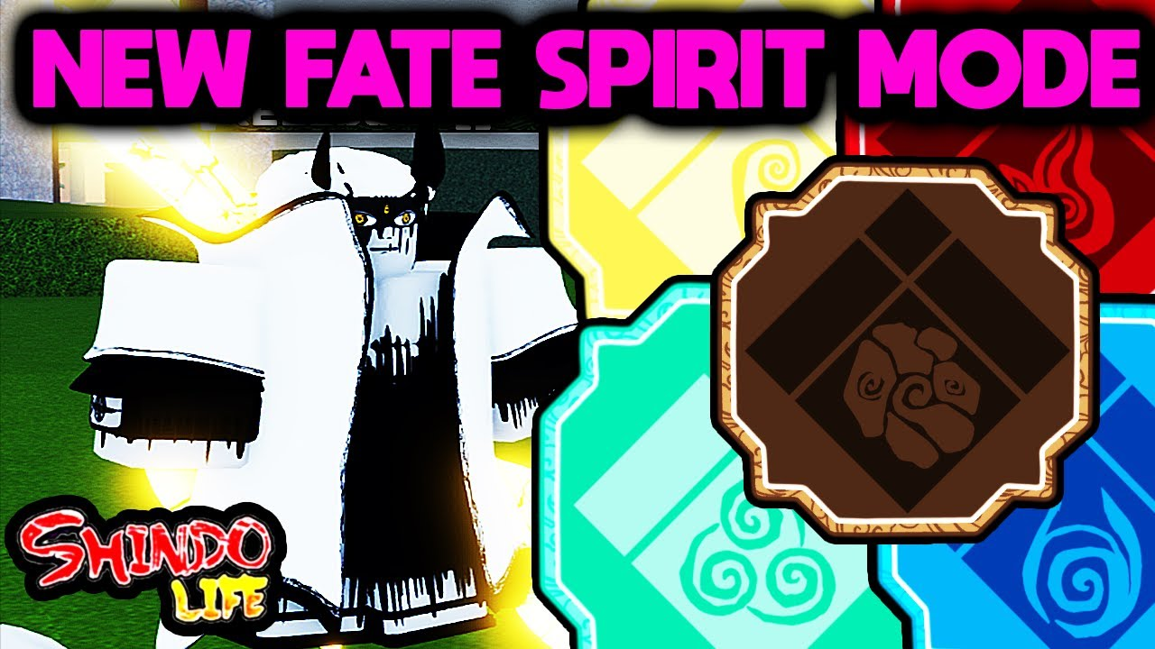 [NEW UPDATE] FIRST LOOK AT *NEW* FATE SPIRIT MODE!!!   Shindo Life Codes   Shindo Life