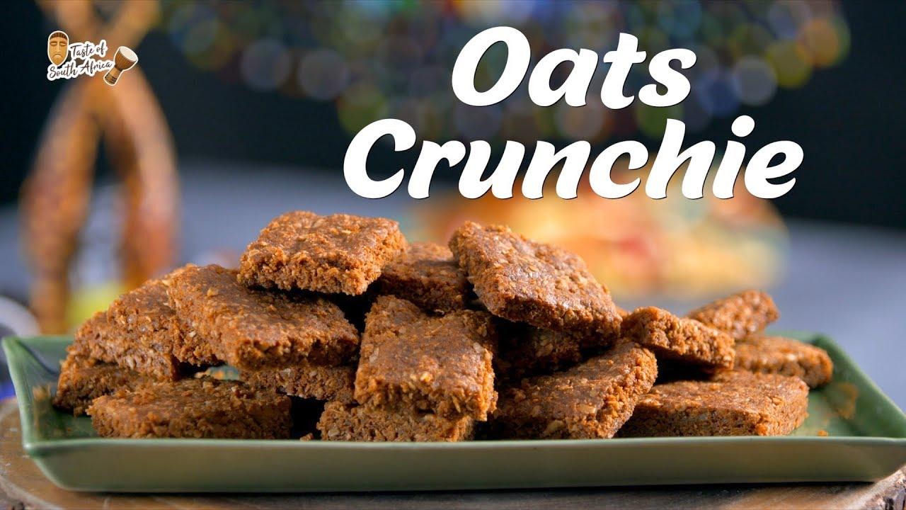 Oats Crunchie Recipe | South African Food Recipes | Recipes By Megha Joshi