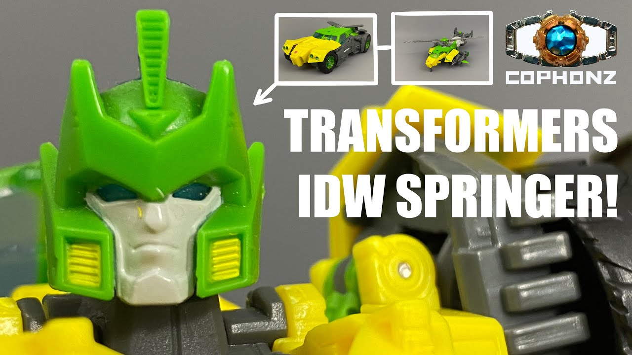 Generations IDW Springer Voyager Class No Words Review by COPHONZ