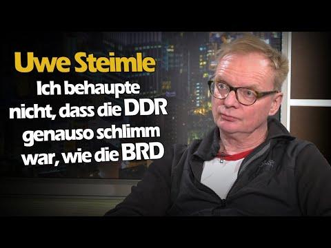 Dirk Pohlmann im Gespräch mit Uwe Steimle über seinen Bruch mit dem MDR